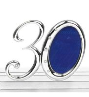 30 30th Birthday or Anniversary Number Mini Photo Frame